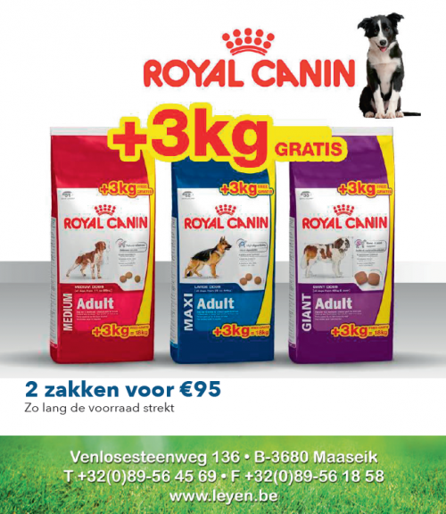 Actie Royal Canin